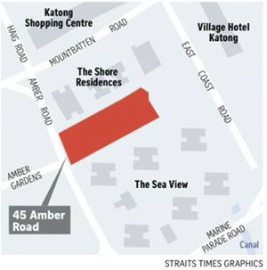 45 Amber Road Site by UOL
