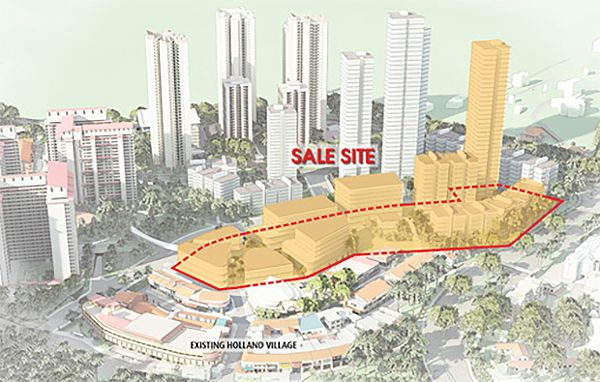 Holland Road GLS site for sale by URA