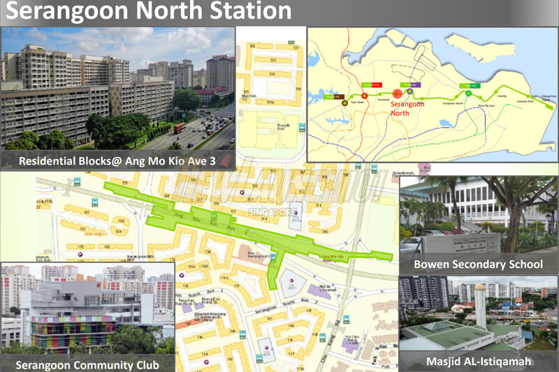 Serangoon North MRT station Cross Island Line