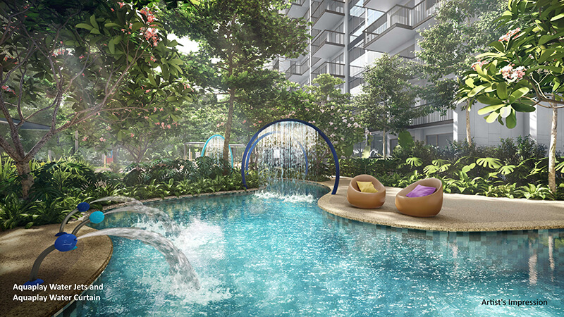 The Florence Residences Aquaplay