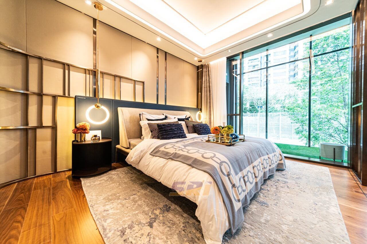 Leedon Green Showflat Bedroom Design